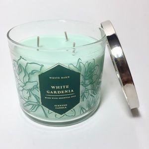 WHITE GARDENIA 3 Wick Candle